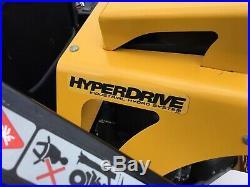 11 Hustler Super Z Hyper Drive 60 Used Zero Turn Mower