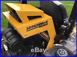 19 Hustler Super Z Hyper Drive 60 Zero Turn Demo Unit