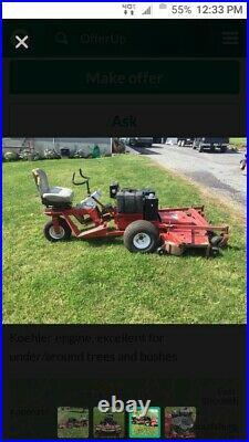$2000 Exmark turf Ranger 60 zero turn mower riding NEW motor & trans 1000hrs