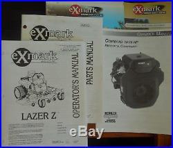 2000 eXmark Lazer Z EPS Zero Turn Mower Less than 1600 hours