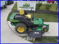 2002 John Deere 757 60 Deck Commercial Zero-turn Mower Nastock# 163529