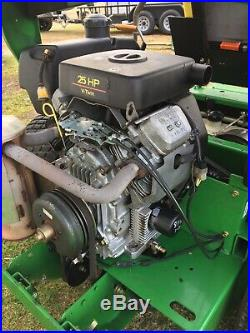 2004 John Deere 757 Hydro Lawn Mower 60 Deck Kawasaki 25HP Twin Engine