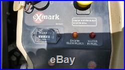 2005 Exmark Lazer Z XP 60 Commercial HD Zero Turn Lawn Mower Rider 27hp DIESEL
