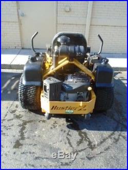 2007 Hustler Z 60 Commercial Zero Turn Mower 25hp Kaw Engine Flex Forks H611455