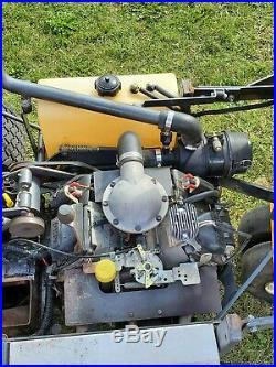2008 48walker Ghs Riding Mower Mtghs 26hp Kohler Bagging Commercial Zero Turn