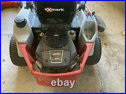 2008 Exmark Quest E-Series 52 Zero Turn Riding Lawn Mower Low Hours One Owner