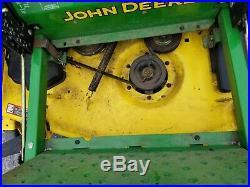 2008 John Deere zeroturn Z445 54 deck 25 hp Kawasaki engine ZT used 248 hr