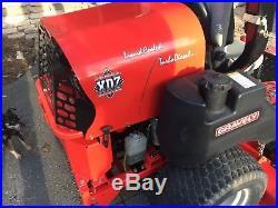 2011 gravely promaster 272 zero turn turbo diesel mower