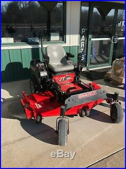 2012 Zero Turn Lawn Mower, Gravely 60 ZT60HD, 27HP Kohler withHead Lights