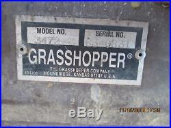 2013 Grasshopper 930d G2 With 72 Inch Deck