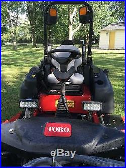 2013 Toro Groundsmaster 360 Quad-Steer, 172hr 4X4, 72 Mid-Mower, 53 snowblower