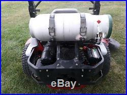 2014 Exmark Lazer Z zeroturn 72 deck 25hp Kohler Propane engine ZT used 1050 hr