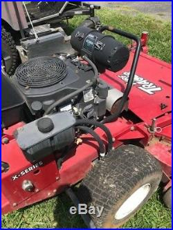 2014 Exmark Turf Tracer 61 Hydro Drive Walkbehind with Sulkey 800 hours