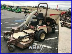 2014 Grasshopper 727t Front Mount Zero Turn 52 With Bagger 515 Hrs Clean