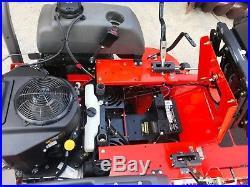 2015 Husqvarna Mzt61 Zero Turn 61 23 HP Kawasaki Suspension Under Seat 330 Hrs