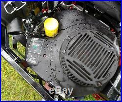 2016 Exmark Lazer Z X-Series 34hp EFi 60in Zero Turn Mower Susp Seating 334 Hrs