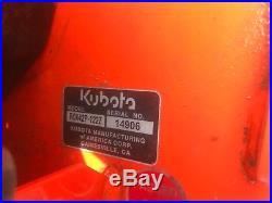 2016 KUBOTA Z122RKW 42 Zero Turn Mower