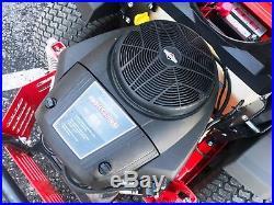 2016 Simplicity Courier 23 HP Briggs 48 Zero Turn Mower Suspension Clean