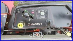 2016 Toro Z Master 3000 Commercial Zero Turn Lawn Mower Rider with25HP Kohler EFI