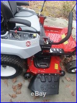 2017 Exmark zero turn mower Slightly Used 4.4 hours Model RAE708GEM52300