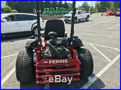 2017 Ferris Is3200z 61 37hp Efi Zeroturn Suspension Commercial 86 Hours Clean