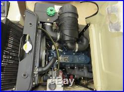 2017 Grasshopper 725D 72 Power Fold Deck 3-Cylinder Kubota Diesel Free Shipping
