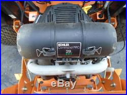 2017 Scag Cheetah 61 Commercial Mower Velocity Deck Zero Turn Warranty H-144930