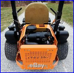 2017 Scag Cheetah 61v Zero Turn Mower Suspension Seat Frame Kaw Fx850v Engine