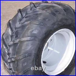 22x11.00-10 TIRE RIM WHEEL R-1 lug for Zero Turn Mower or Golf Cart 4-Hole Left