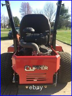 25hours New 2018 Country Clipper CHARGER COMMERCIAL Zero-Turn Mower With Joy Stick