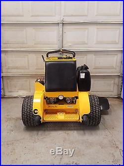 278 hours! 48 Wright Stander Commercial Lawn Mower Kawasaki Motor stand on ZTR
