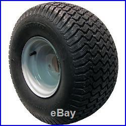 2 20x10.00-8 Tires Wheels Rims Garden Tractor / Zero Turn / Riding Lawn Mower