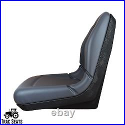 (2) Gray High Back Seats Toro Workman MD HD 2100 2300 4300 UTV Utility Vehicle