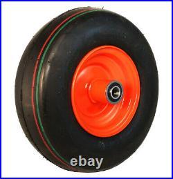 2 New 11x4.00-5 ATW Smooth 4 Ply Tire & Kubota Zero Turn Mower Rim Wheel