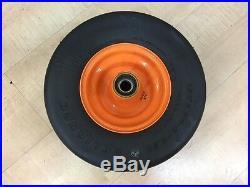 (2)Scag OEM # 9278 13x6.5x6 Flat Free Caster Tire / Turf Tiger Mower / Zero Turn