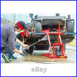 350Lbs Lawn Riding Mower Lift Repair Jack Tractor ATV Hydraulic Blades Zero Turn
