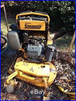 36 Wright Stander Commercial Zero Turn Stand On Lawn Mower