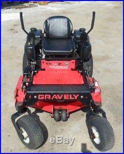 48 Gravely XDZ 144Z Riding Zero-Turn Mower, 21HP Kawasaki Engine