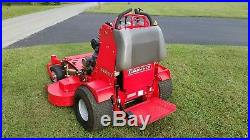 52 inch Gravely Pro Stance Commercial Stand on Zero Turn Mower