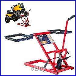 550 Lbs Capacity Lawn Mower Jack Lift Tractors Zero Turn Steel Garden Mowers