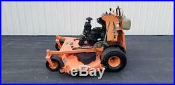 61 Scag V-Ride Kohler EFI zero turn commercial stander lawn mower