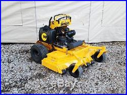 61 Wright Stander X Aero Core Deck Zero Turn Commercial Stand On Lawn Mower ZTR