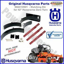 966412901 Husqvarna Mulching Kit for 42 RZ & EZ Zero-Turn Mowers
