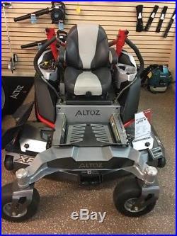 Altoz xp610 demo model have 2 left save $$$$$$$ 61 inch deck 27 horse kaw fx