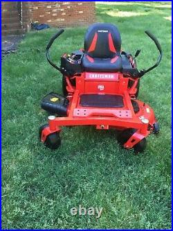 BEST OFFER Used Craftsman Z5400 22-HP 46-in Zero-Turn Riding Lawn Mower