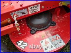 Big Dog Alpha Zero Turn mower Kawasaki 21hp 42 cut lawnmower