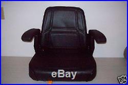 Black High Back Seat Bunton, Bobcat, Dixie, Snapper, Toro, Exmark Zero Turn Mower #kx