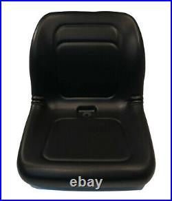 Black High Back Seat for Ariens & Gravely 03829400, 09210500, 09214500, 09230000