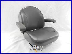 Black Ultra Standard Seat C1110 Fits Kubota, Ariens Ztr Zero Turn Mowers #usb