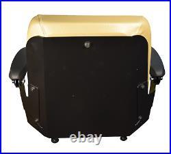 Brown Zero Turn Lawn Mower Seat Armrests Slides SCAG Ariens